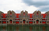 London:  Housing, Shadwell Basin, Wapping.  Macormac, Jamieson, Prichard & Wright.  Photo '90.