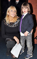17/02/'11 RTEs Miriam O'Callaghan and her son Jamie (4) pictured this afternoon after they officially opened the exhibition 'Tutankhamun: His Tomb and His Treasures' in the RDS Dublin. Tutankhamun: His Tomb and His Treasures has already delighted over 1.7 million visitors across Europe. Tickets can be bought on www.ticketmaster.ie...Picture Colin Keegan, Collins, Dublin.***NO REPRODUCTION FEE PICTURE****