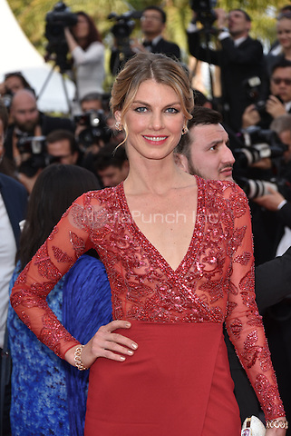 Angela Lindvall<br /> 'Loving' screening arrivals during the 69th International Cannes Film Festival, France May 16, 2016.<br /> CAP/PL<br /> &copy;Phil Loftus/Capital Pictures /MediaPunch ***NORTH AND SOUTH AMERICA ONLY***