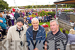 Bob Scott (Ballyduff) Tom McElligott (Kilflynn) and John Dunne (Tralee) pictured at Ballyheigue Pattern day on Sunday.