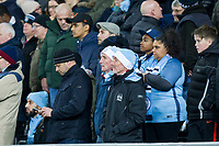 Manchester City fans during the EPL - Premier League match between Swansea City and Manchester City at the Liberty Stadium, Swansea, Wales on 13 December 2017. Photo by Mark  Hawkins / PRiME Media Images.