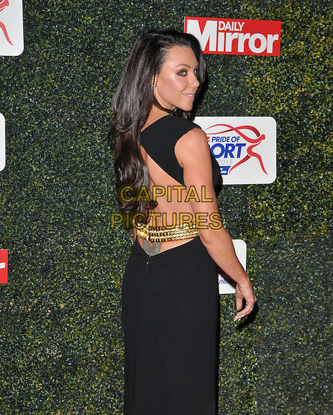 Michelle Heaton attends the Daily Mirror Pride of Sport Awards 2015, Grosvenor House Hotel, Park Lane, London, England, UK, on Wednesday 25 November 2015. <br /> CAP/CAN<br /> &copy;Can Nguyen/Capital Pictures