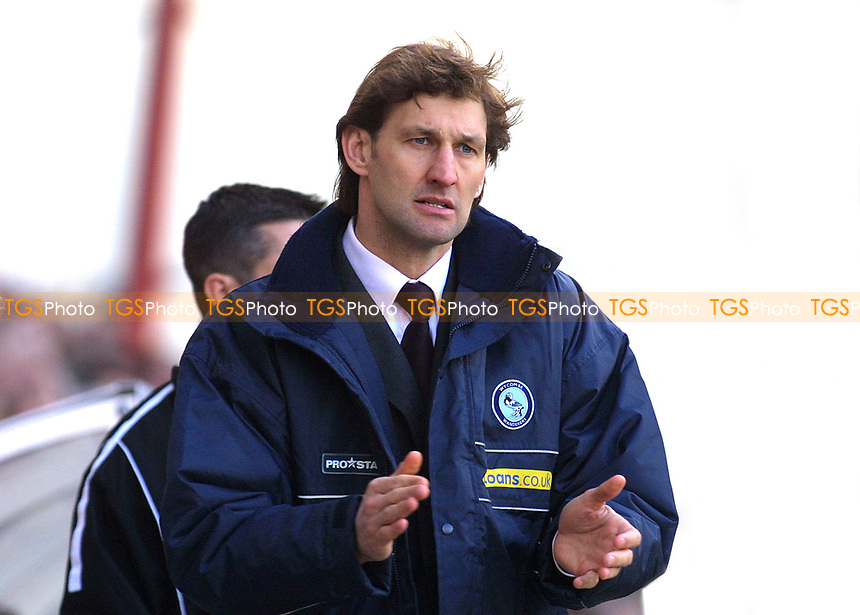 Tony Adams, Manager of Wycombe Wanderers and previously captain of Arsenal FC and England during Bournemouth vs Wycombe Wanderers, Nationwide League Division Two Football at Dean Court on 6th March 2004