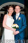 Marian Curtin, daughter of Liam & Margaret Curtin, Twogneeves, Brosna & Seanie Scollard, son ofJohn & Catherine Scollard, Dromcollagher, Co. Limerick who were married in St. Carthages Church, Brosna by FR. Anthony O'Sullivan on Saturday last. Best man was Eamonn Scollard and the groomsman was Denis Scollard.  Brides maids were Liz Collins & Aine Kelly. Flowergirl was Katie Collins & the page boy was Daniel Scollard. The reception was held in the Listowel Arms Hotel & the couple will live in Abbeyfeale.