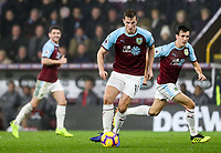 Burnley's Chris Wood breaks<br /> <br /> Photographer Andrew Kearns/CameraSport<br /> <br /> The Premier League - Burnley v Liverpool - Wednesday 5th December 2018 - Turf Moor - Burnley<br /> <br /> World Copyright &copy; 2018 CameraSport. All rights reserved. 43 Linden Ave. Countesthorpe. Leicester. England. LE8 5PG - Tel: +44 (0) 116 277 4147 - admin@camerasport.com - www.camerasport.com