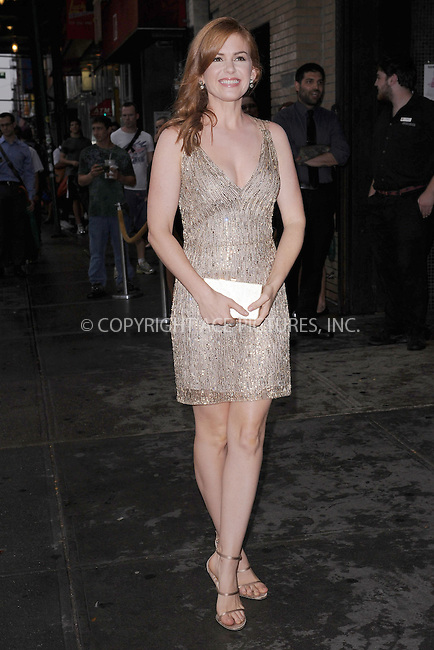 WWW.ACEPIXS.COM . . . . . .September 4, 2012...New York City....Isla Fisher  attends the 'Bachelorette' New York Premiere at Landmark's Sunshine Cinema on September 4, 2012 in New York City ....Please byline: KRISTIN CALLAHAN - ACEPIXS.COM.. . . . . . ..Ace Pictures, Inc: ..tel: (212) 243 8787 or (646) 769 0430..e-mail: info@acepixs.com..web: http://www.acepixs.com .