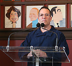 Director Michael Mayer attends Michael Moore announces he will make his Broadway debut with 'The Terms of My Surrender' at Sardi's on May 1, 2017 in New York City.