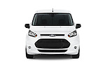 Car photography straight front view of a 2015 Ford Transit Connect XLT 4 Door Car Van Front View