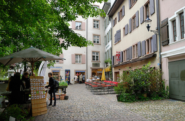 Andreasplatz, Basel, Switzerland