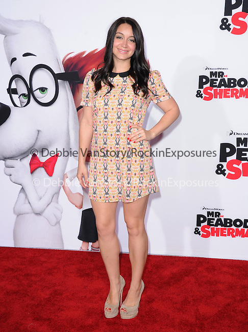 Shanelle Workman Gray attends The Twentieth Century Fox and Dreamwork Animation Holly-Woof Premiere of Mr. Peabody & Sherman Premiere held at The Regency Village Westwood in Westwood, California on March 05,2014                                                                               © 2014 Hollywood Press Agency
