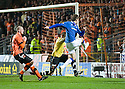 :: RANGERS' NIKICA JELAVIC SCORES THE THIRD :: .19/04/2011   Copyright  Pic : James Stewart.sct_jsp014_dundee_utd_v_rangers .James Stewart Photography 19 Carronlea Drive, Falkirk. FK2 8DN      Vat Reg No. 607 6932 25.Telephone      : +44 (0)1324 570291 .Mobile              : +44 (0)7721 416997.E-mail  :  jim@jspa.co.uk.If you require further information then contact Jim Stewart on any of the numbers above.........