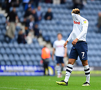Preston North End's Callum Robinson at the end of the game<br /> <br /> Photographer Chris Vaughan/CameraSport<br /> <br /> The EFL Sky Bet Championship - Preston North End v Reading - Saturday 15th September 2018 - Deepdale - Preston<br /> <br /> World Copyright &copy; 2018 CameraSport. All rights reserved. 43 Linden Ave. Countesthorpe. Leicester. England. LE8 5PG - Tel: +44 (0) 116 277 4147 - admin@camerasport.com - www.camerasport.com