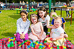 l-r Priya O'Donovan, Donnacha Hartnett, Katie Casey, Jennifer Casey and Charlotte Casey . enjoying the NA GAEIL GAA, family fun day on Sunday
