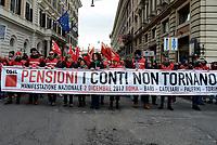 Roma, 2 Dicembre 2017<br /> Susanna Camusso<br /> Manifestazione della CGIL per Pensioni e Lavoro