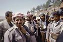 Irak 1991<br /> Au poste de controle de Kore, Massoud Barzani revenant de Bagdad<br /> Iraq 1991<br /> Checkpoint in Kore, Massoud Barzani coming back from Bagdad