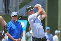 Brian Gay (USA) watches his tee shot on 10 during round 3 of the AT&amp;T Byron Nelson, Trinity Forest Golf Club, at Dallas, Texas, USA. 5/19/2018.<br /> Picture: Golffile | Ken Murray<br /> <br /> <br /> All photo usage must carry mandatory copyright credit (&copy; Golffile | Ken Murray)