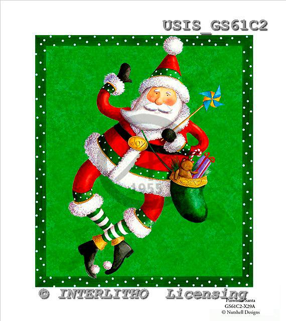 Ingrid, CHRISTMAS SANTA, SNOWMAN, WEIHNACHTSMÄNNER, SCHNEEMÄNNER, PAPÁ NOEL, MUÑECOS DE NIEVE, paintings+++++,USISGS61C2,#X# vintage