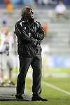 14 September 2013: Tampa Bay head coach Ricky Hill (ENG). The Carolina RailHawks played the Tampa Bay Rowdies at WakeMed Stadium in Cary, North Carolina in a North American Soccer League Fall 2013 Season regular season game. The game ended in a 2-2 tie.