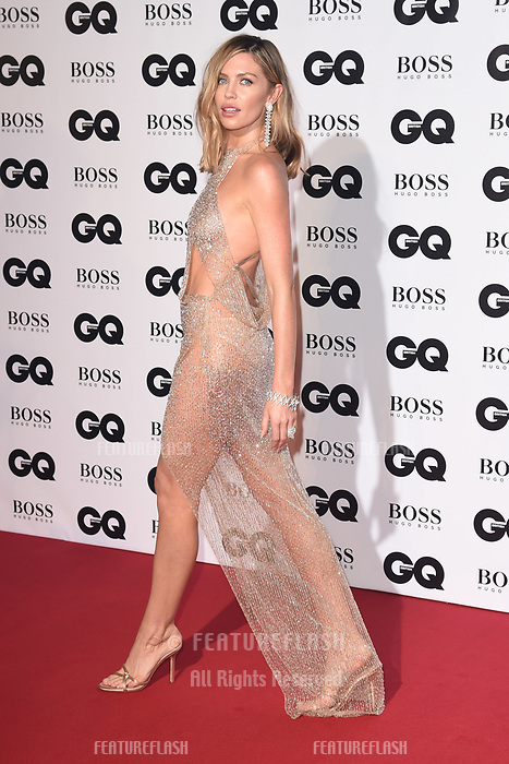 LONDON, UK. September 05, 2018: Abbie Clancy at the GQ Men of the Year Awards 2018 at the Tate Modern, London