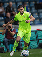Billy Paynter of Hartlepool United in action during the Sky Bet League 2 match between Wycombe Wanderers and Hartlepool United at Adams Park, High Wycombe, England on 5 September 2015. Photo by Andy Rowland.