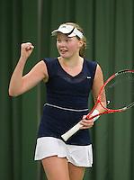 13-03-11, Tennis, Rotterdam, NOJK, Kelly versteeg wint meisjes 18 jaat