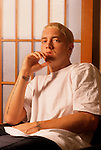 Various portrait sessions & live photographs of rapper, Eminem.