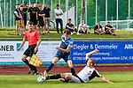 09.07.2017, Sportplatz, Ottobeuren, GER, FSP, SV Sandhausen vs FC Z&uuml;rich, im Bild Fabian Rohner (Z&uuml;rich #23), Korbinian Vollmann (Sandhausen #22)<br /> <br /> Foto &copy; nordphoto / Hafner