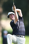 02/18/12 Pacific Palisades, CA: Spencer Levin during the third round of the Northern Trust Open held at the Riviera Country Club