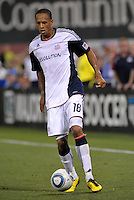 Khano Smith...Kansas City Wizards defeated New England Revolution 4-1 at Community America Ballpark, Kansas City , Kansas.