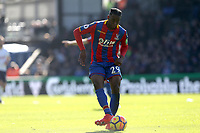 Aaron Wan-Bissaka of Crystal Palace during Crystal Palace vs Tottenham Hotspur, Premier League Football at Selhurst Park on 25th February 2018