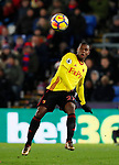Watford's Christian Kabasele in action during the premier league match at Selhurst Park Stadium, London. Picture date 12th December 2017. Picture credit should read: David Klein/Sportimage