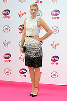 NON EXCLUSIVE PICTURE: PAUL TREADWAY / MATRIXPICTURES.CO.UK<br /> PLEASE CREDIT ALL USES<br /> <br /> WORLD RIGHTS<br /> <br /> Russian professional tennis player Maria Sharapova attending the WTA Pre Wimbledon Party, at London's Kensington Roof Gardens.<br /> <br /> 20th JUNE 2013<br /> <br /> REF: PTY 134225