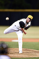 Jacksonville Suns pitcher Matt Ramsey (40) delivers a pitch during game three of the Southern League Championship Series against the Chattanooga Lookouts on September 12, 2014 at Bragan Field in Jacksonville, Florida.  Jacksonville defeated Chattanooga 6-1 to sweep three games to none.  (Mike Janes/Four Seam Images)