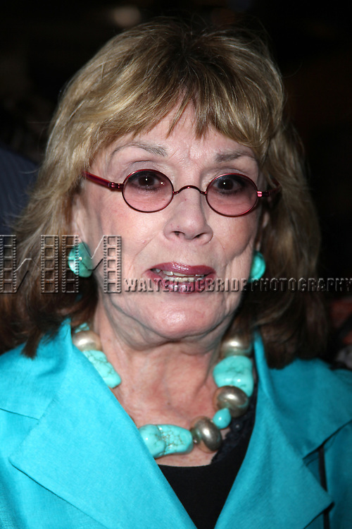 Phyllis Newman attending the NOTHING LIKE A DAME Benfit Evening at the World Stages in New York City.<br />June 15, 2009