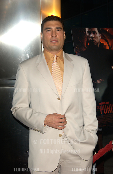 Actor EDUARDO YANEZ at the Los Angeles premiere of his new movie The Punisher..April 12, 2004