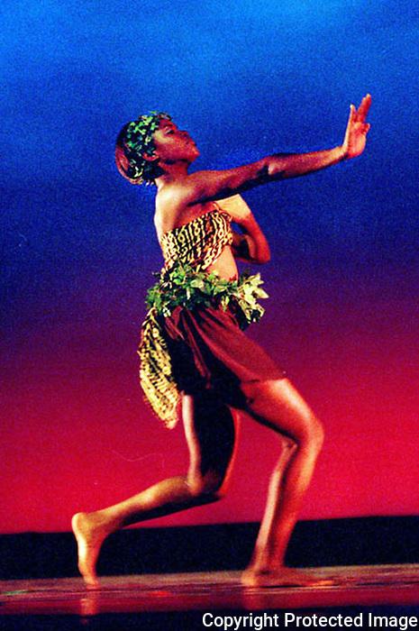 Dancer at FCCJ