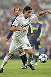 MADRID (15/(09/2010).- Champions League match Real Madrid vs Ajax Amsterdam. Sami Khedira...Photo: Cesar Cebolla / ALFAQUI