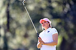 WILMINGTON, NC - OCTOBER 27: Penn State's Madelein Herr on the 13th tee. The first round of the Landfall Tradition Women's Golf Tournament was held on October 27, 2017 at the Pete Dye Course at the Country Club of Landfall in Wilmington, NC.