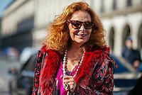 Diane Von Furstenburg at Paris Fashion Week (Photo by Hunter Abrams/Guest of a Guest)