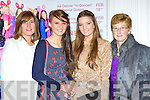 Tricia O'Shea, Shona Guerin, Tara O'Shea and Dolly O'Halloran at the Dr Croke's GAA club social in the INEC Killarney on Friday night..