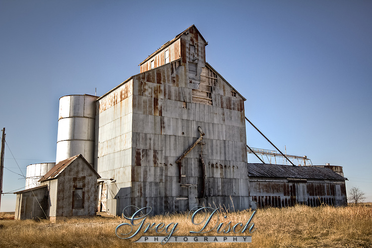And all grainery on Route 66 in the Texas Panhandle.