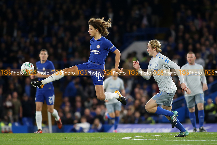 Ethan Ampadu of Chelsea in action during Chelsea vs Everton, Caraboa Cup Football at Stamford Bridge on 25th October 2017