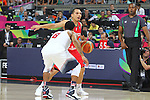 06.09.2014. Barcelona, Spain. 2014 FIBA Basketball World Cup, round of 16. Picture show P. Stoll and R. Gay   in action during game between  Mexico v Usa  at Palau St. Jordi
