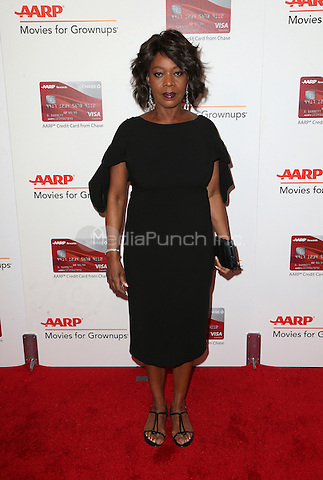 Beverly Hills, CA - FEBRUARY 06: Alfre Woodard, At 16th Annual AARP The Magazine's Movies For Grownups Awards, At The Beverly Wilshire Four Seasons Hotel In California on February 06, 2017. Credit: Faye Sadou/MediaPunch