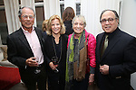 Ron Harrington, Barbara Olcott, Carol Hall and Leonard Majzlin during The DGF's 14th Biannual Madge Evans & Sidney Kingsley Awards at the Dramatists Guild Fund headquarters on April 4, 2016 in New York City.