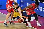 Ian HUMMER (OL)<br /> Aktion,Zweikampf gegen<br /> Retin OBASOHAN (BA).<br /> <br /> Basketball 1.Bundesliga,BBL, nph0001-Finalturnier 2020.<br /> Viertelfinale am 18.06.2020.<br /> <br /> BROSE BAMBERG-EWE BASKETS OLDENBURG,<br /> Audi Dome<br /> <br /> Foto:Frank Hoermann / SVEN SIMON / /Pool/nordphoto<br /> <br /> National and international News-Agencies OUT - Editorial Use ONLY