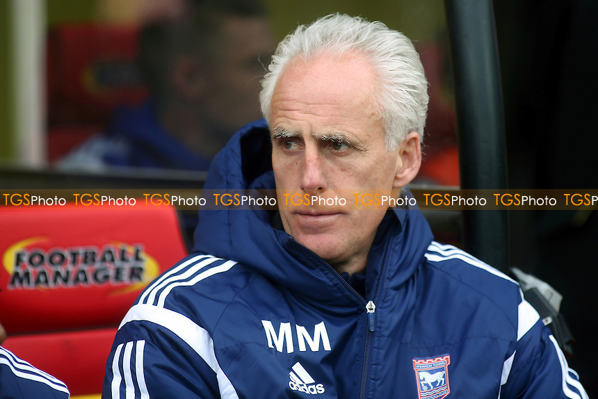 Mick McCarthy, Manager of Ipswich Town - Watford vs Ipswich Town - Sky Bet Championship Football at Vicarage Road Stadium, Watford, Hertfordshire - 21/03/15 - MANDATORY CREDIT: Paul Dennis/TGSPHOTO - Self billing applies where appropriate - contact@tgsphoto.co.uk - NO UNPAID USE