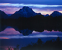 MOUNT MORAN AND THE SNAKE RIVER<br /> GRAND TETON NATIONAL PARK, WYOMING