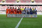01.08.2015. Cologne, Germany. Pre Season Tournament. Colonia Cup. Valencia CF versus FC Porto.  Photo call for Valencia and Porto, pre match.