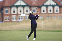 Aditi Ashok (IND) on the 2nd fairway during Round 3 of the Ricoh Women's British Open at Royal Lytham &amp; St. Annes on Saturday 4th August 2018.<br /> Picture:  Thos Caffrey / Golffile<br /> <br /> All photo usage must carry mandatory copyright credit (&copy; Golffile | Thos Caffrey)